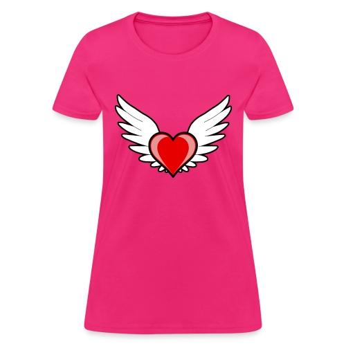 Positivity Heart - Women's T-Shirt