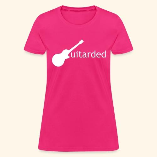 Guitarded - Women's T-Shirt