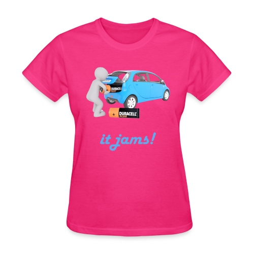 Limited Edition! E-car   Technic Style - Women's T-Shirt