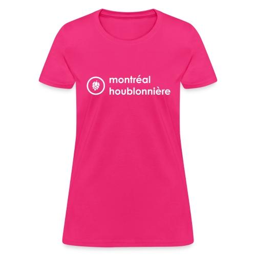 Logo blanc - Women's T-Shirt