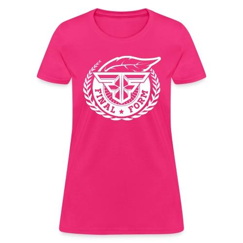 logo white png - Women's T-Shirt
