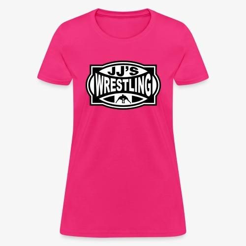 JJs Club Wrestling Logo Mono - Women's T-Shirt