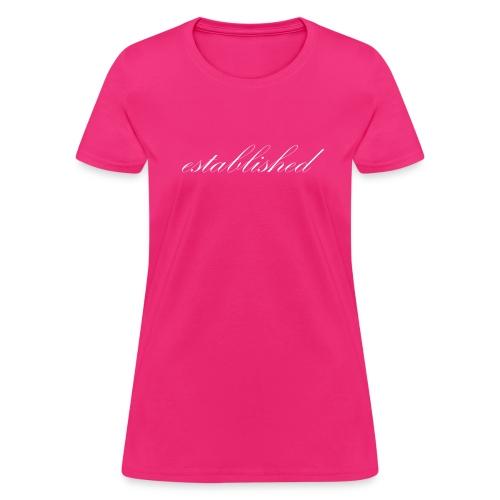 Simply Established - Women's T-Shirt