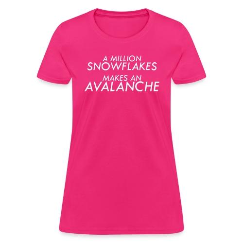 Liberal Snowflakes - Women's T-Shirt