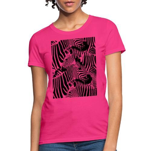 Zebras - Women's T-Shirt