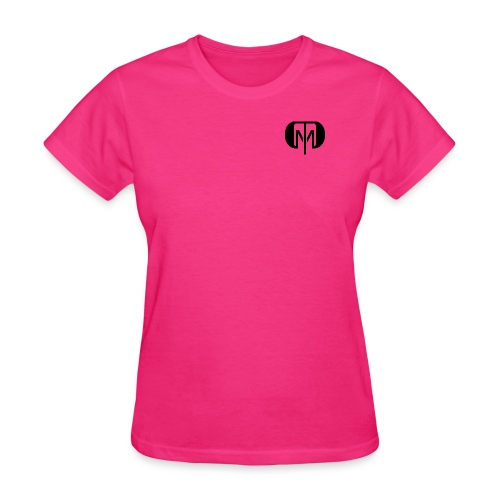 dtdm 2 black png - Women's T-Shirt