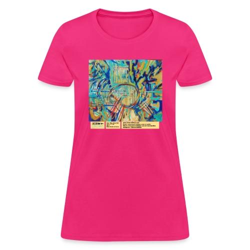 blue guitar riot - Women's T-Shirt
