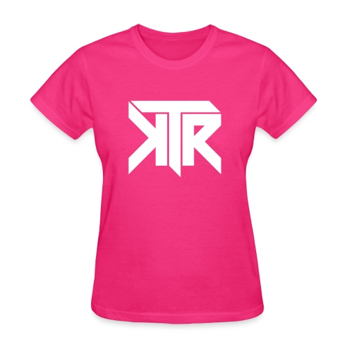 KTR Logo White - Women's T-Shirt