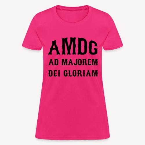AMDG - Women's T-Shirt