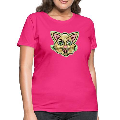 Happy Cat Gold - Women's T-Shirt