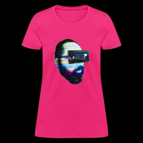 Spaceboy Music - Glitched - Women's T-Shirt
