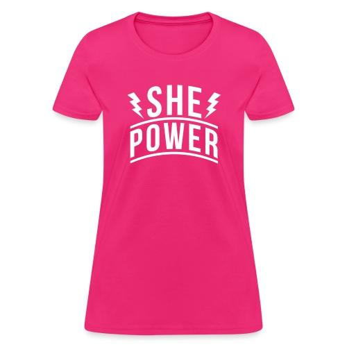 She Power - Women's T-Shirt