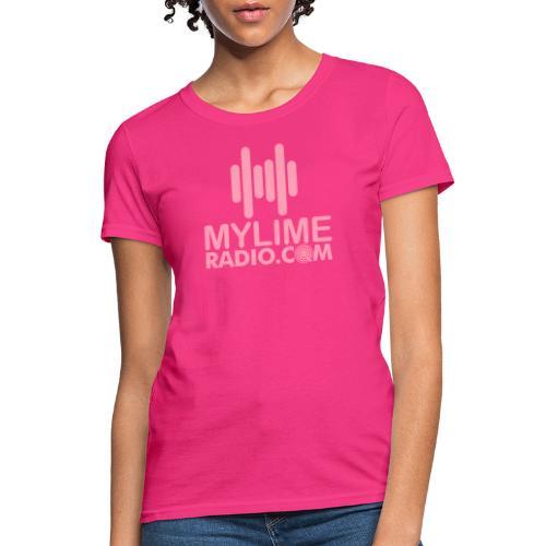 MyLimeRadio MAIN LOGO (Solid) - Women's T-Shirt