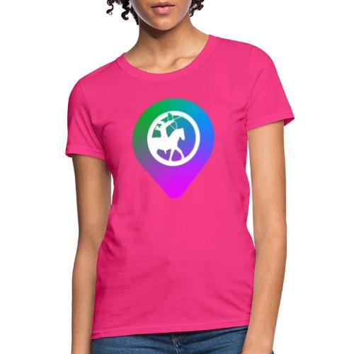 KC2Go Map Point - Women's T-Shirt