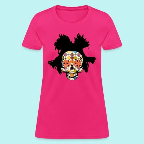 BASQUIAT SKULLY - Women's T-Shirt