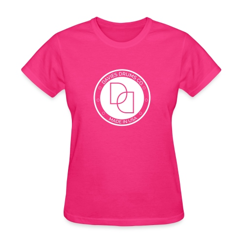 Davies Drums Logo (no BG) - Women's T-Shirt