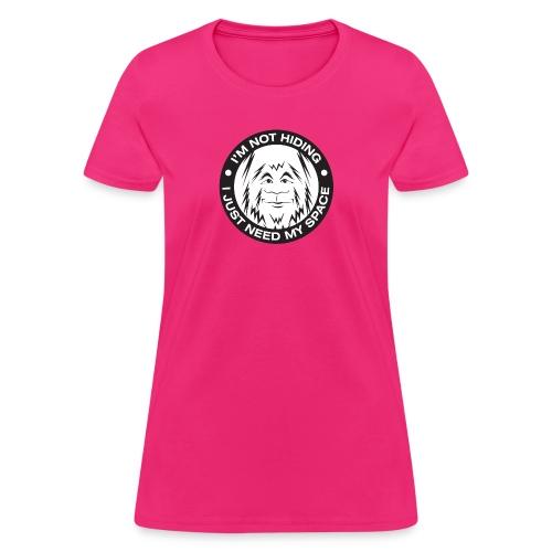 Bigfoot Needs Space - Women's T-Shirt