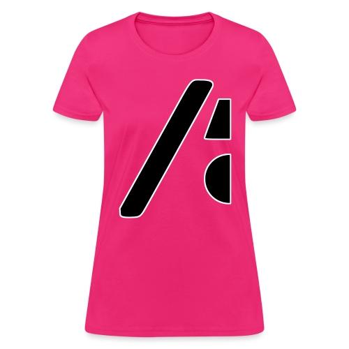 Half the logo, full on style - Women's T-Shirt