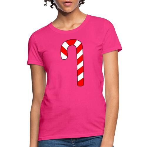 Candy Cane - Women's T-Shirt