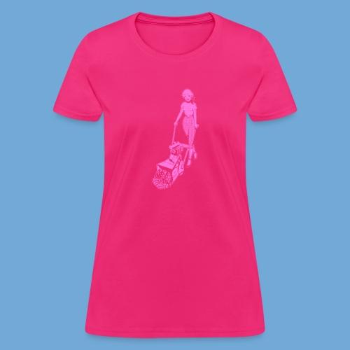 Roto-Hoe pink. - Women's T-Shirt