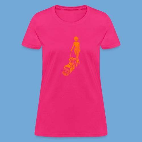 Roto-Hoe Orange - Women's T-Shirt
