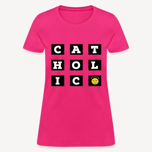 CATHOLIC SMILEY - Women's T-Shirt