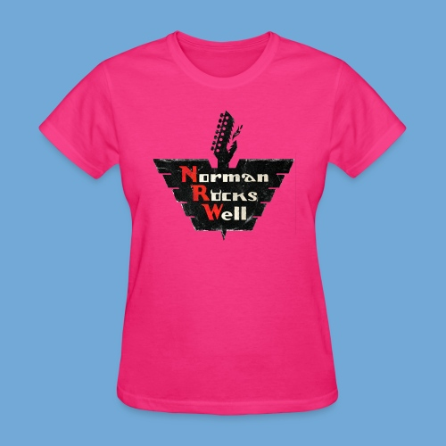 Norman Rocks Well (RGB) - Women's T-Shirt
