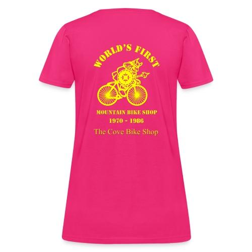 VIKING Large Yellow on back - Women's T-Shirt