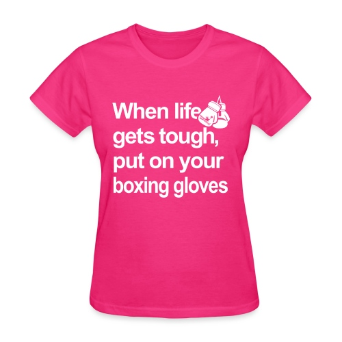 When life gets touch t-sh - Women's T-Shirt