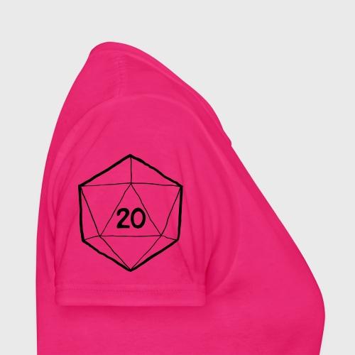 Fantasy Dice d20 - Women's T-Shirt