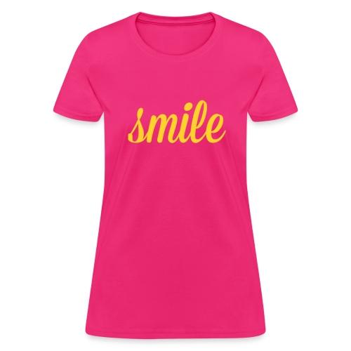 Smile, part ll - Women's T-Shirt