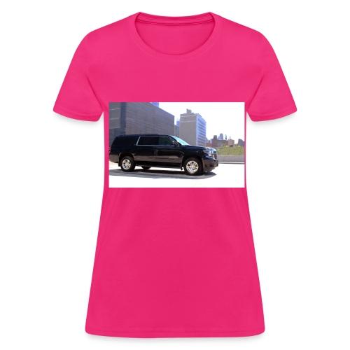 PINK TRANSPORATION - Women's T-Shirt