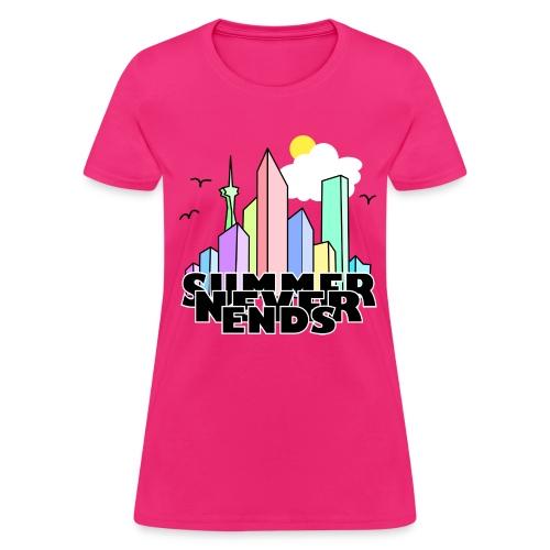 Summer never ends - Women's T-Shirt