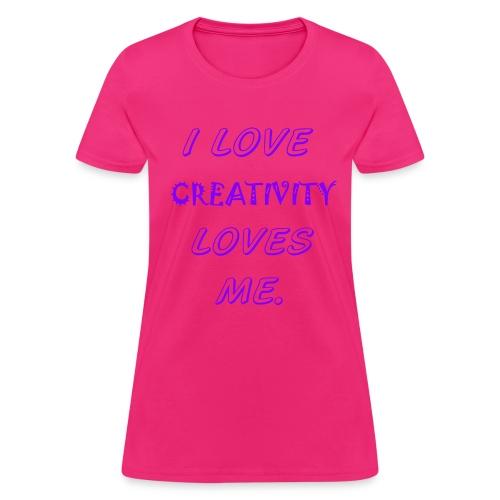 CREATIVITY - Women's T-Shirt