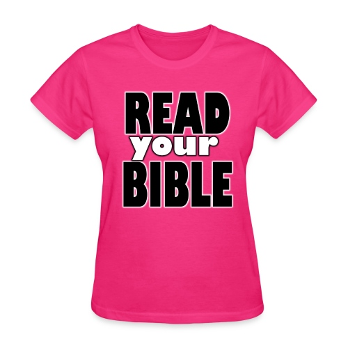 Read your Bible Hope Possible - Women's T-Shirt