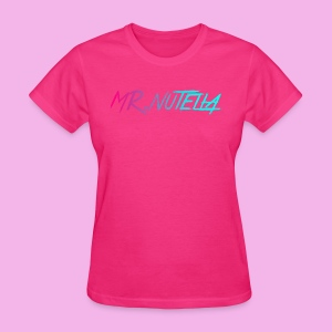 MR.nutella merch - Women's T-Shirt