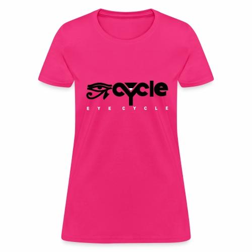 EYE CYYCLE BLACK N WHITE FLAT - Women's T-Shirt