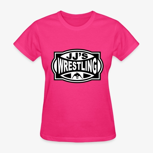 JJs Club Wrestling Logo Mono - Women's T-Shirt
