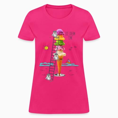 ICE CREAM TIME 01 - Women's T-Shirt