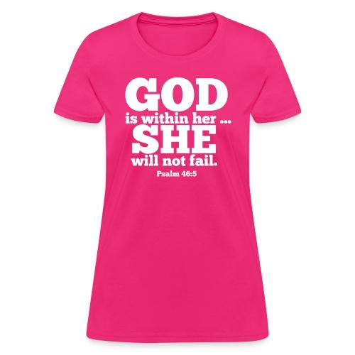 You will not FAIL! - Women's T-Shirt