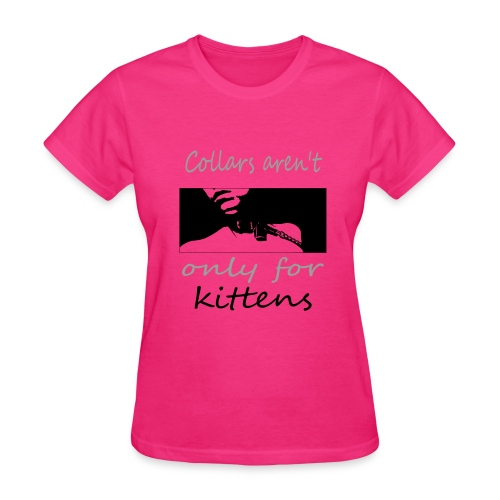 collard kitten - Women's T-Shirt
