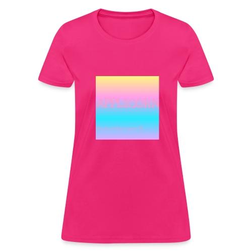 Colorful applicorn shirts - Women's T-Shirt