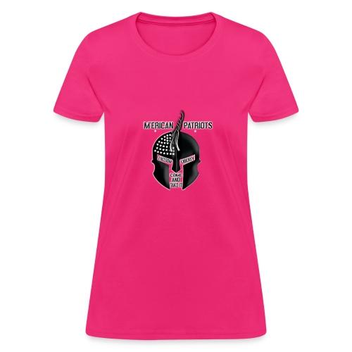 merican patriots logo - Women's T-Shirt