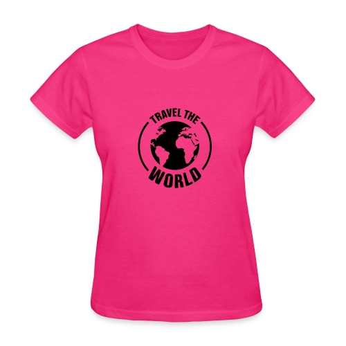 travel the world by Travel4hlidays - Women's T-Shirt