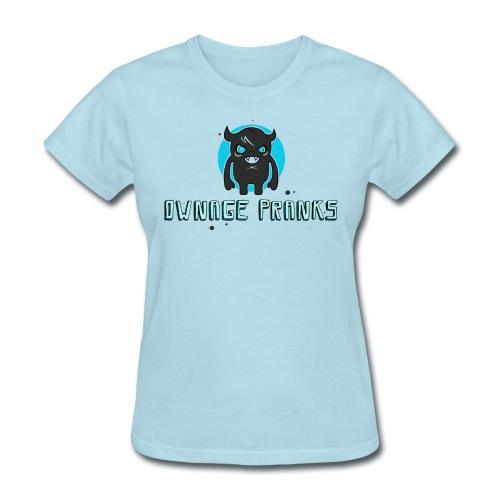 ownagepranks logo lb - Women's T-Shirt