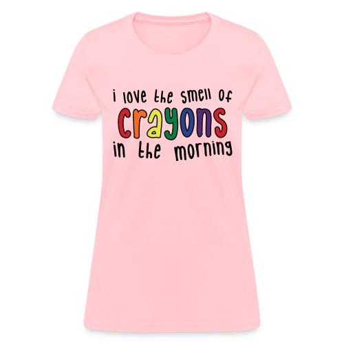 Crayons light - Women's T-Shirt