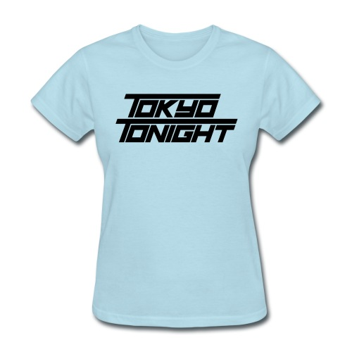Tokyo Tonight Font Wh - Women's T-Shirt