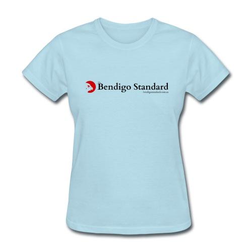 Bendigo Standard Logo - vertical - Women's T-Shirt