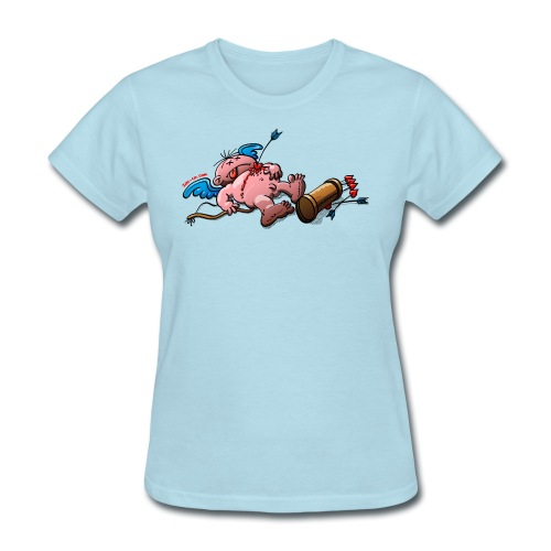 Who Killed Cupid? - Women's T-Shirt
