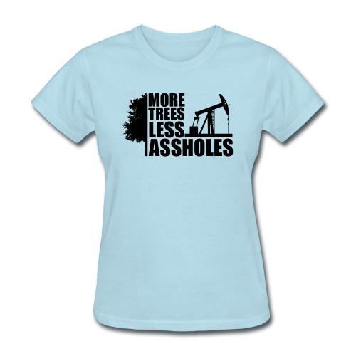 MTLAblack png - Women's T-Shirt